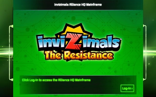 Invizimals The Resistance Title Page