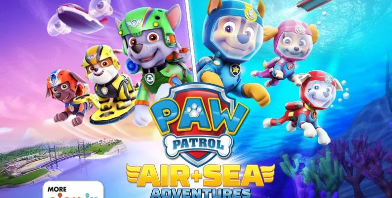 Paw Patrol Air and Sea Adventures Title Image